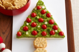 Guacamole Holiday Tree recipe