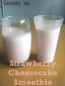 Strawberry Cheesecake Smoothie