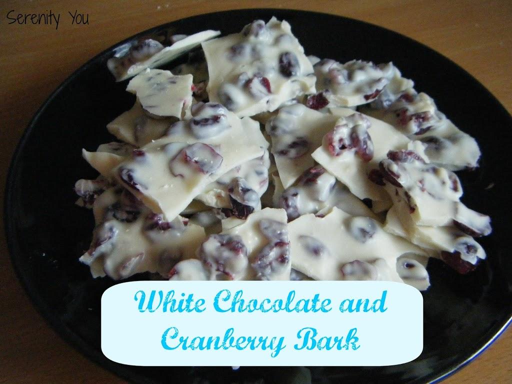 White ChocolateCranberry Bark Recipes — Dishmaps