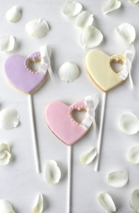 Heart Ribbon Cookies