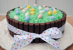 Easter Basket Kit Kat Cake