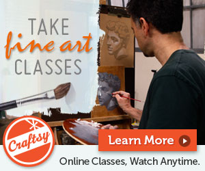 Take Fine Art Classes with Craftsy