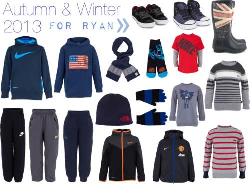Choosing the Kids Autumn/Winter Wardrobes