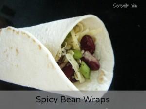 Spicy Bean Wraps
