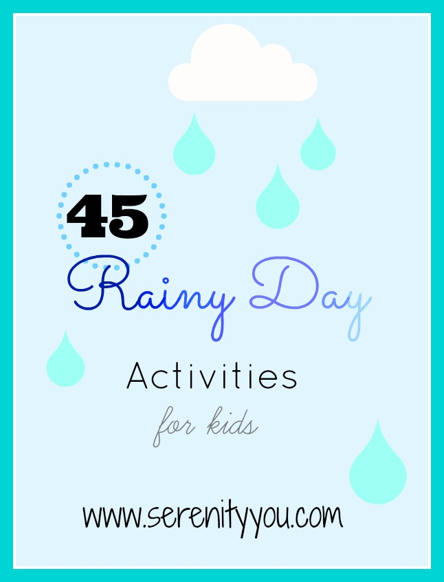 rainy day crafts for kids