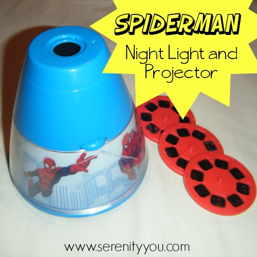 Spiderman Night Light and Projector
