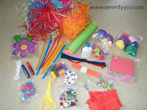 arts and craft materials