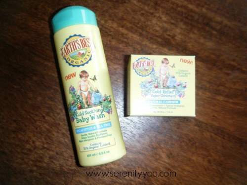 The Earth's Best – Kids Cold Soothing Products + Giveaway