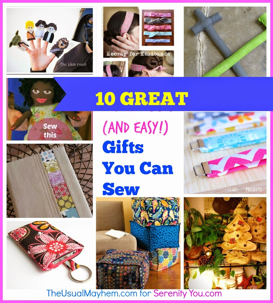 10 great gifts you can sew