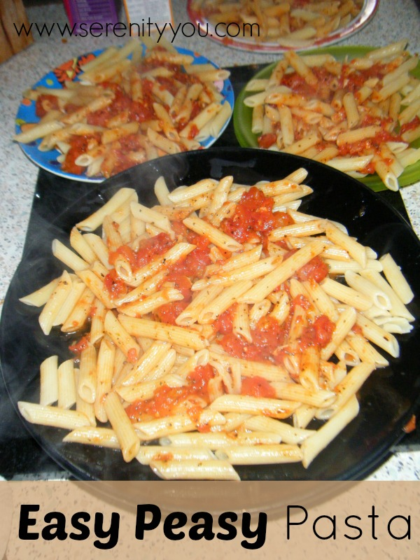 Easy Peasy Pasta