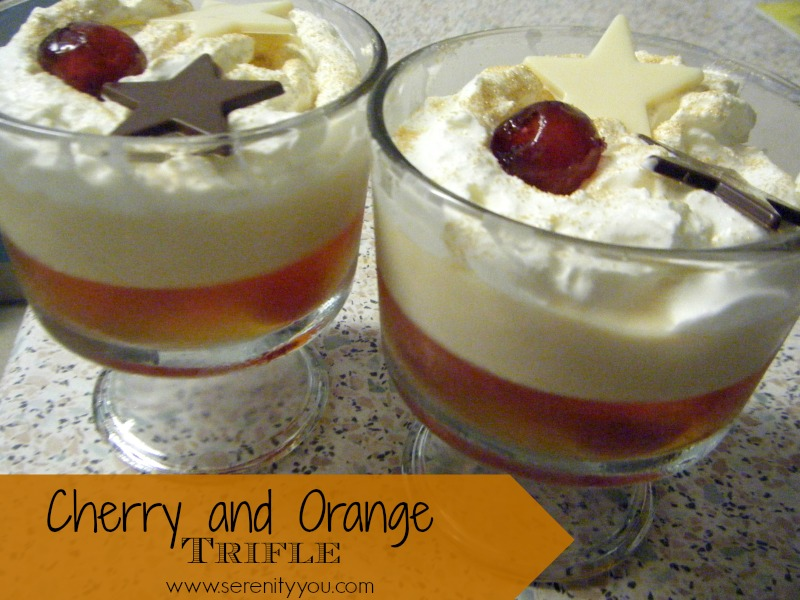 Cherry & Orange Trifle