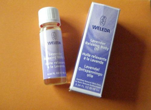 Lavender - Weleda Body Oils Gift Set from Big Green Smile