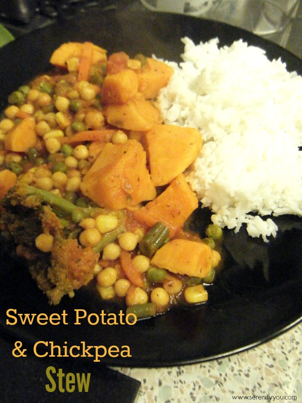 Sweet Potato & Chickpea Stew