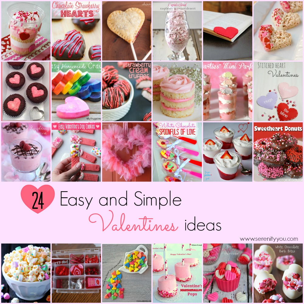 24 Simple and Easy Valentines Ideas