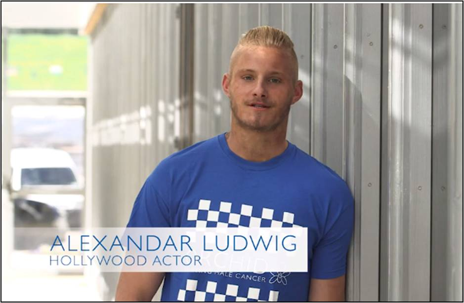 Check for testicular cancer with Hunger Games star Alex Ludwig #talkballs