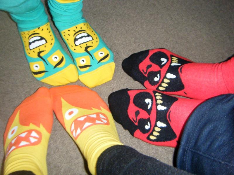 I Love ChattyFeet Socks