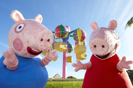 Take a Short Break to Peppa Pig World