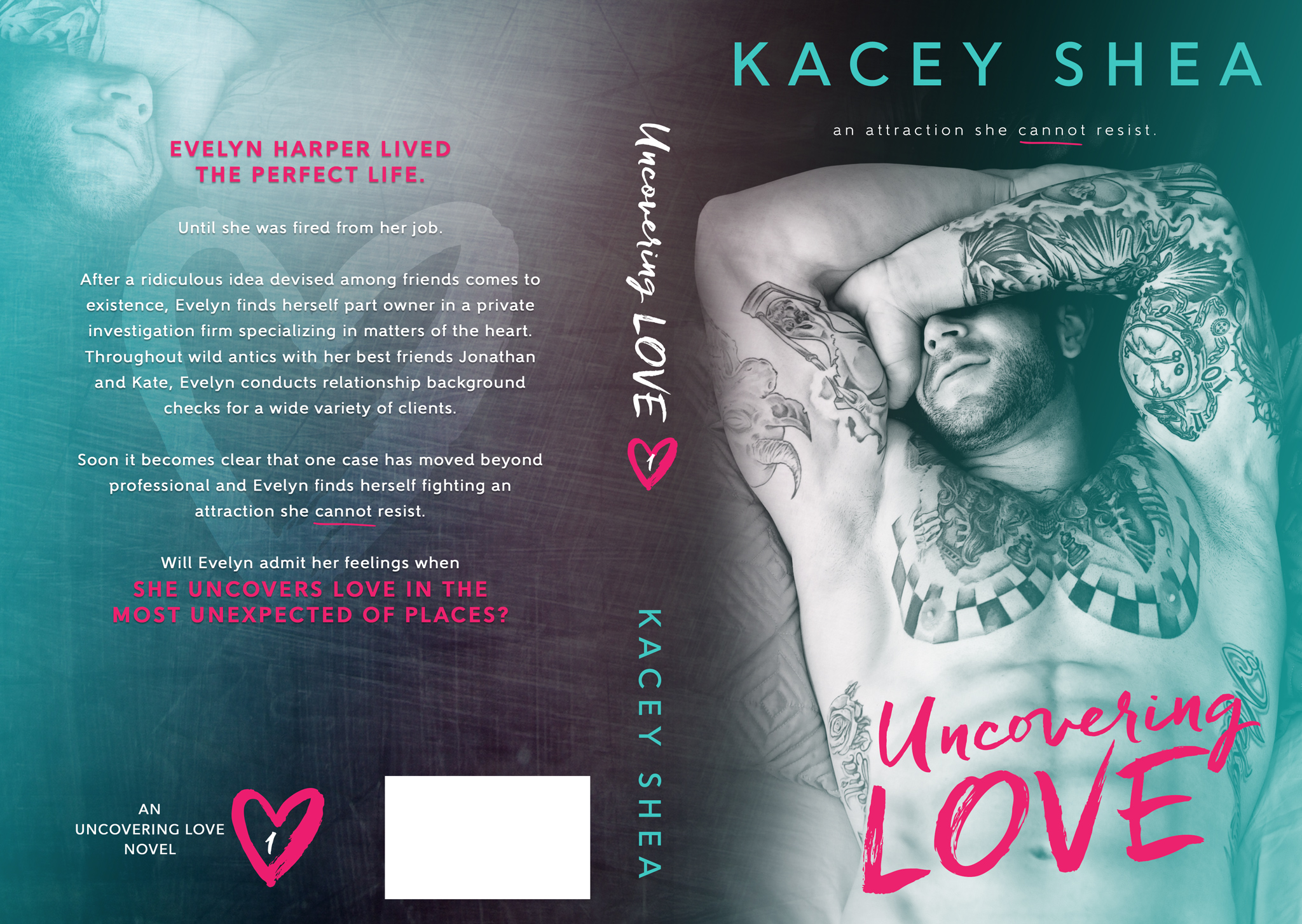 Cover Reveal : Uncovering Love by Kacey Shea