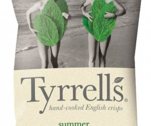 Tyrrells mint butter crips