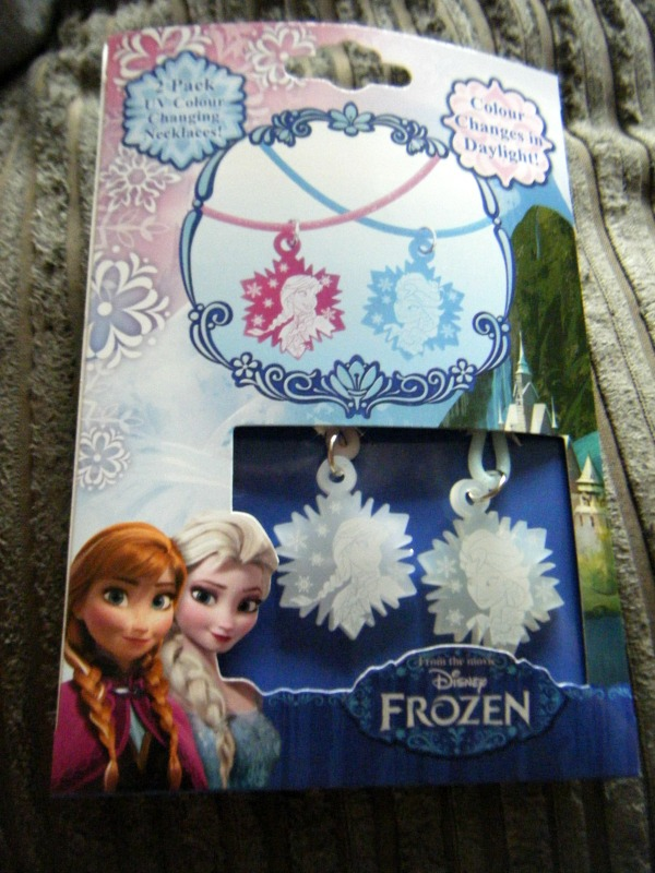 frozen necklaces