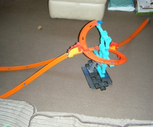 Hot Wheels Track Builder + Giveaway