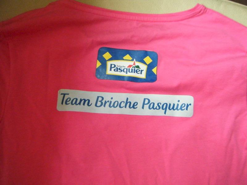 race for life team Brioche Pasquier
