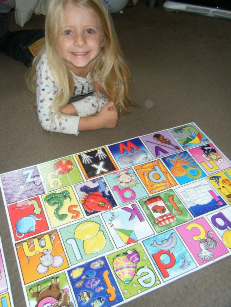 Orchard Toys Big Alphabet Jigsaw 4