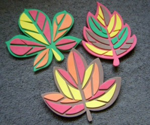 Fun Autumn Crafts from Yellow Moon