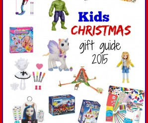 Kids Christmas Gift Guide 2015