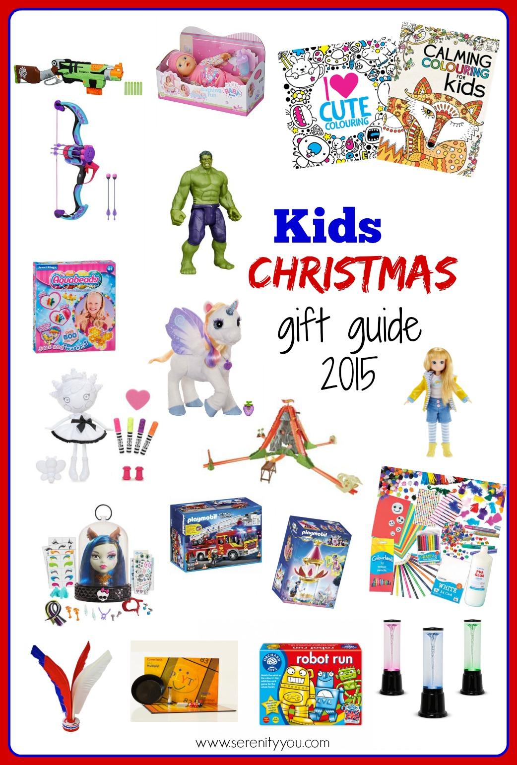 kids christmas gift guide 2015