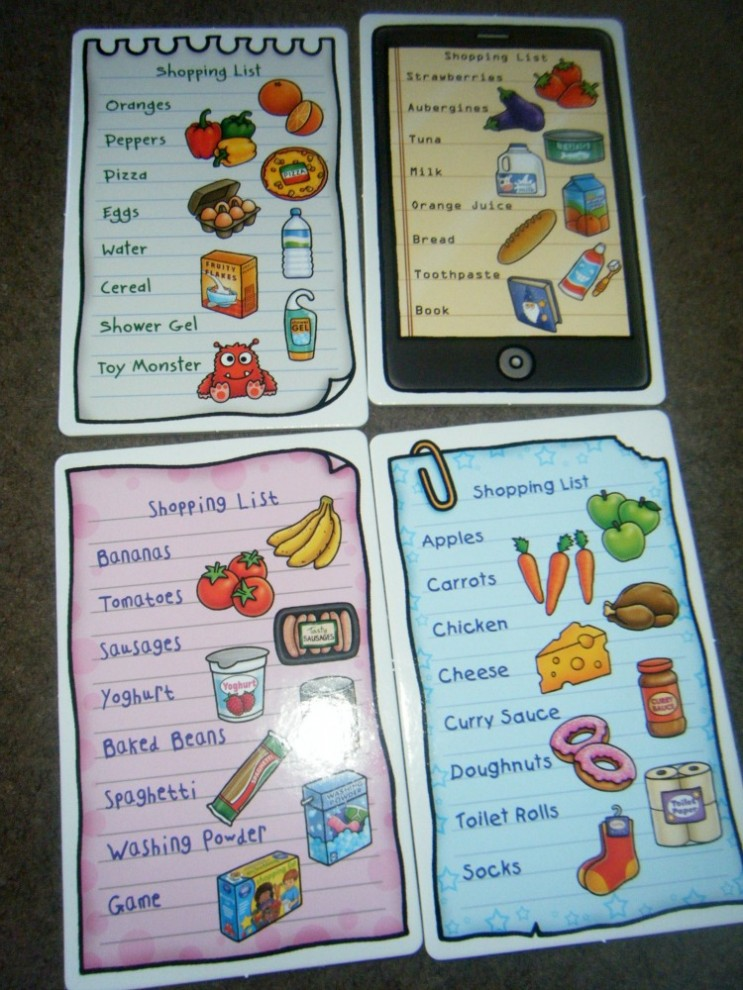 shopping list game 3