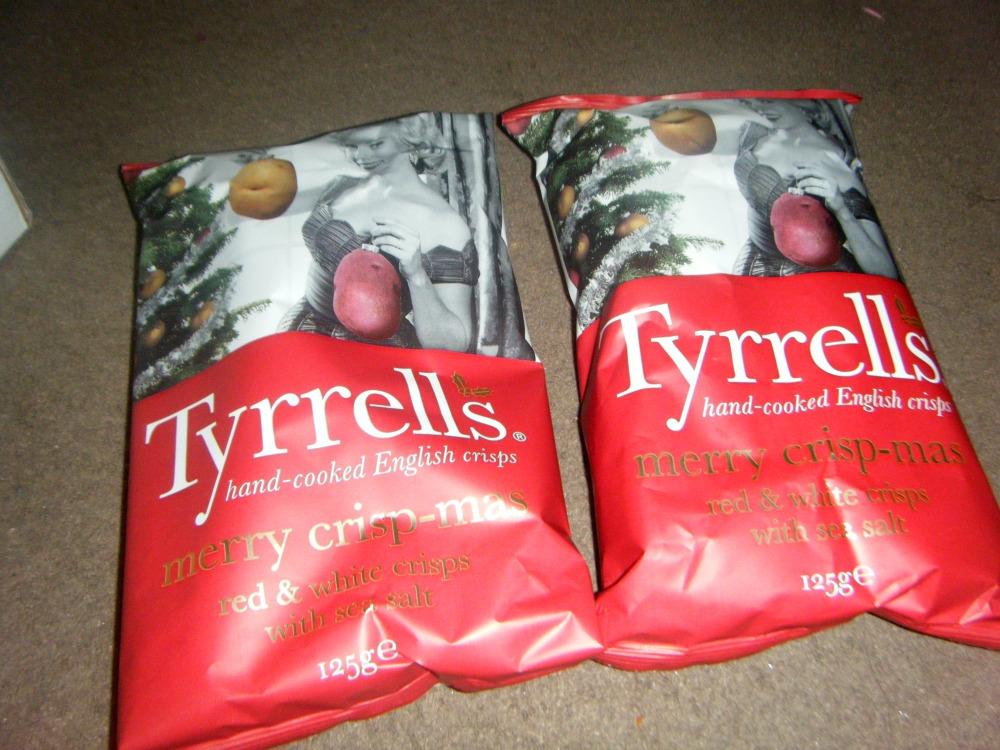 Tyrrells Christmas crisp 1