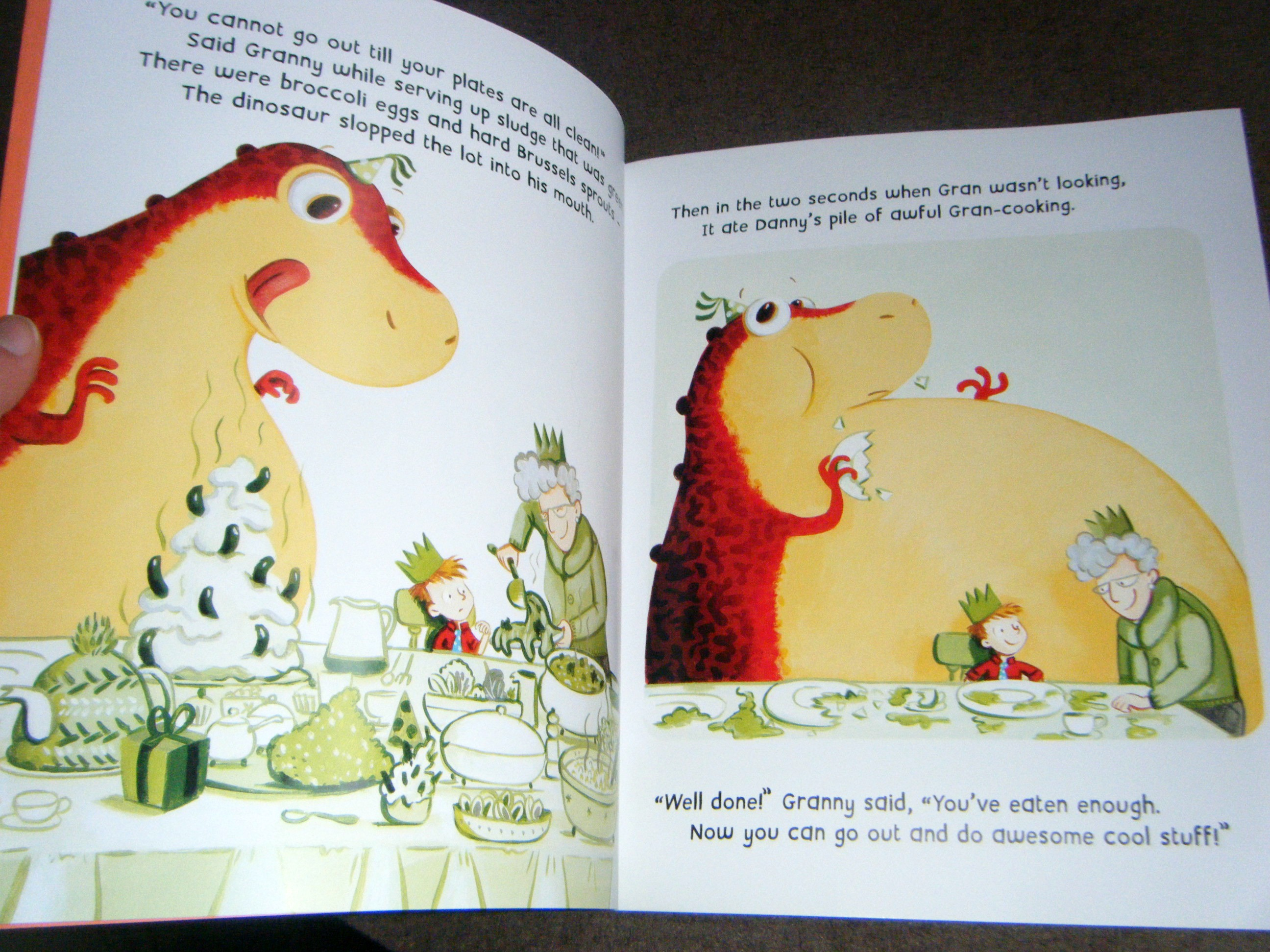 The Dinosaur that pooped the past book review