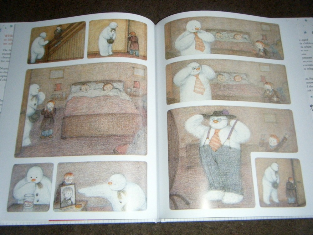 The Snowman by Raymond Briggs book review
