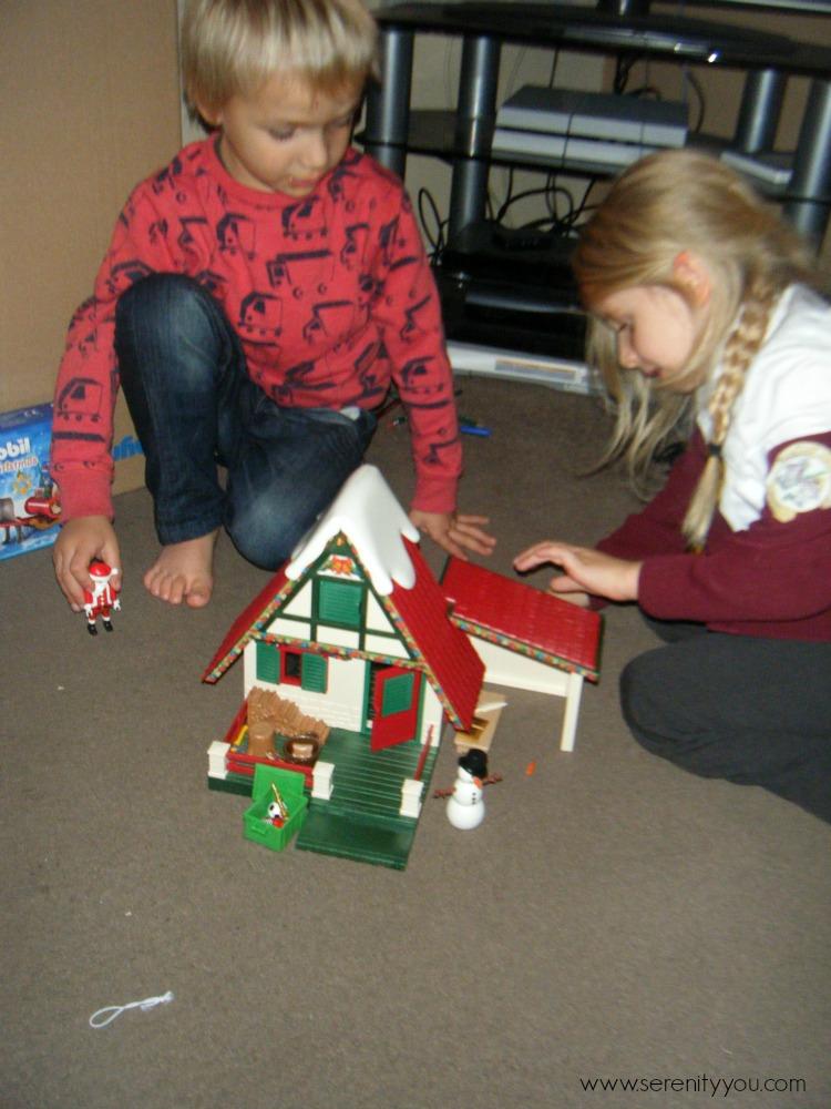 playmobil Christmas Santa set 6