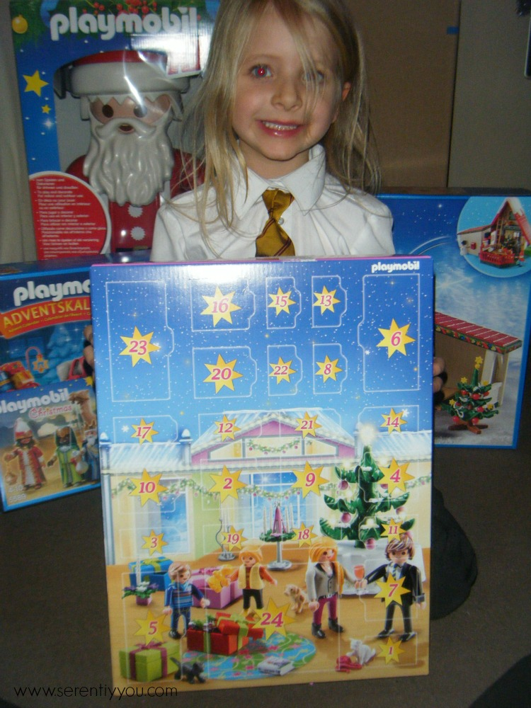playmobil Christmas advent calendar girls
