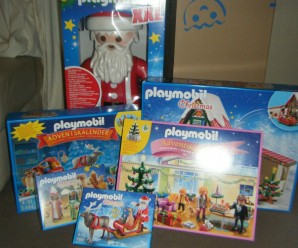 Playmobil Christmas Sets – I Won!