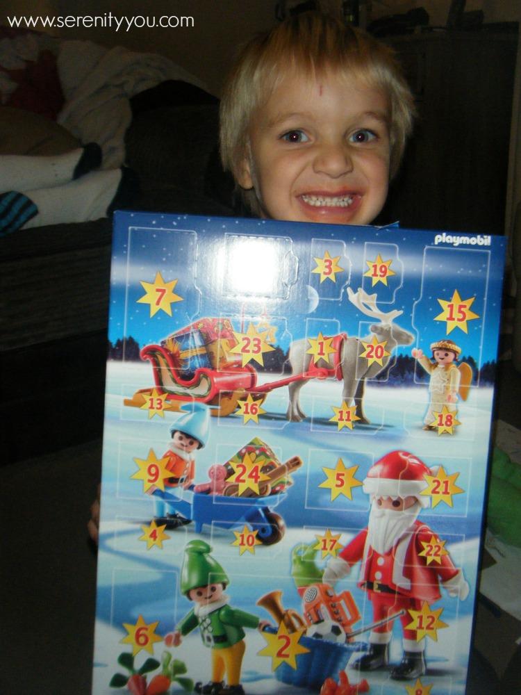 playmobil christmas advent calendar santas workshop