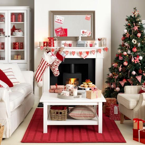 Christmas Scandi / Scandinavian style Decorating ideas