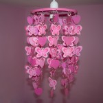 Heart & Butterfly Light Shade