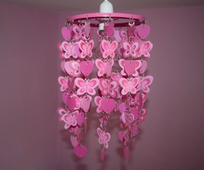 Heart and Butterfly Light Shade Review