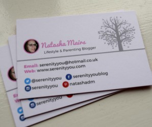 My New Business Cards from AuraPrint