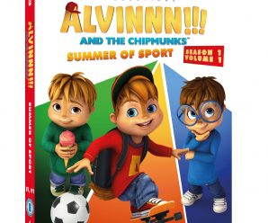 Win Alvin and The Chipmunks Summer of Sports DVD