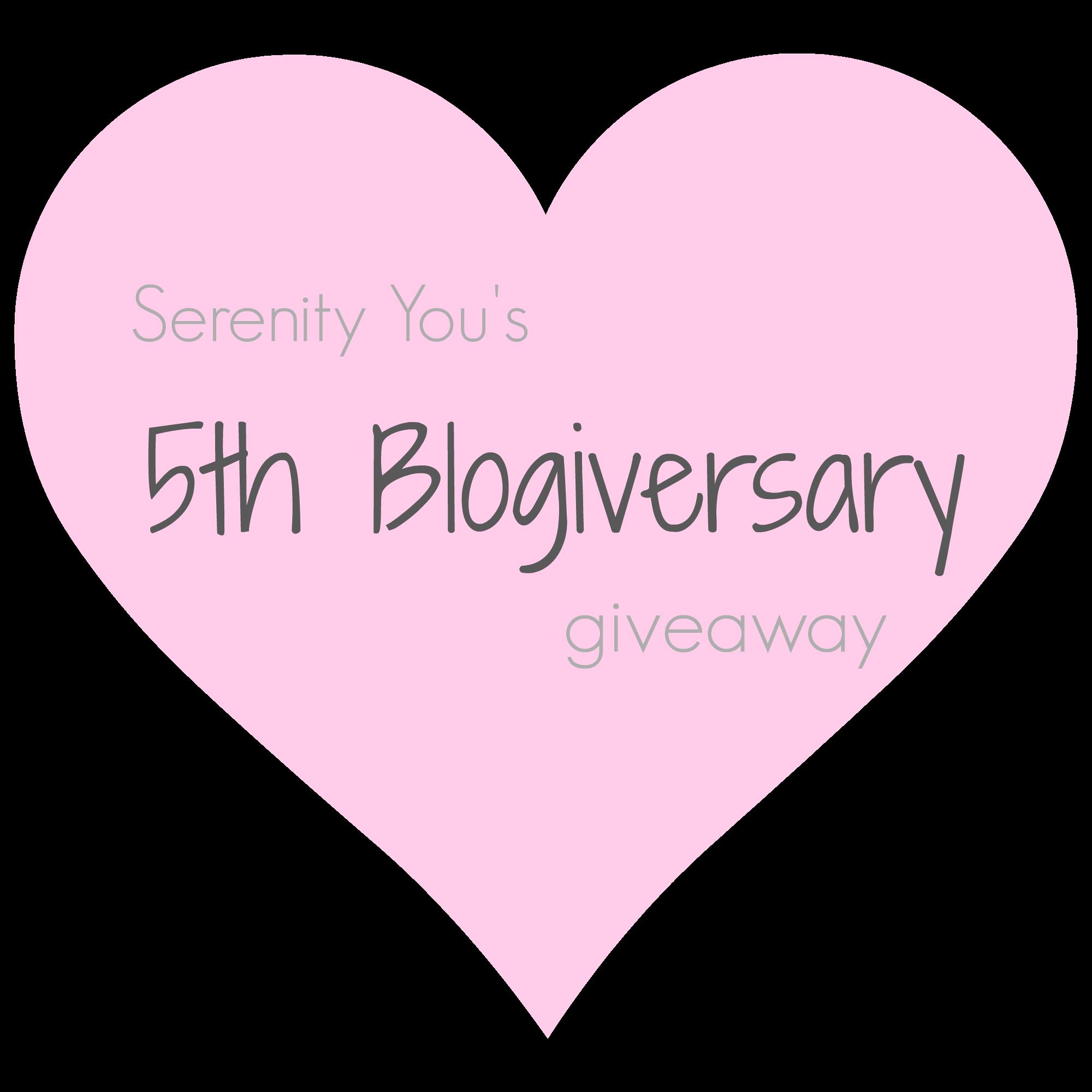 5th blogiversary logo