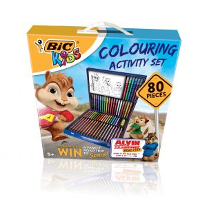 80 Piece Colouring Pack