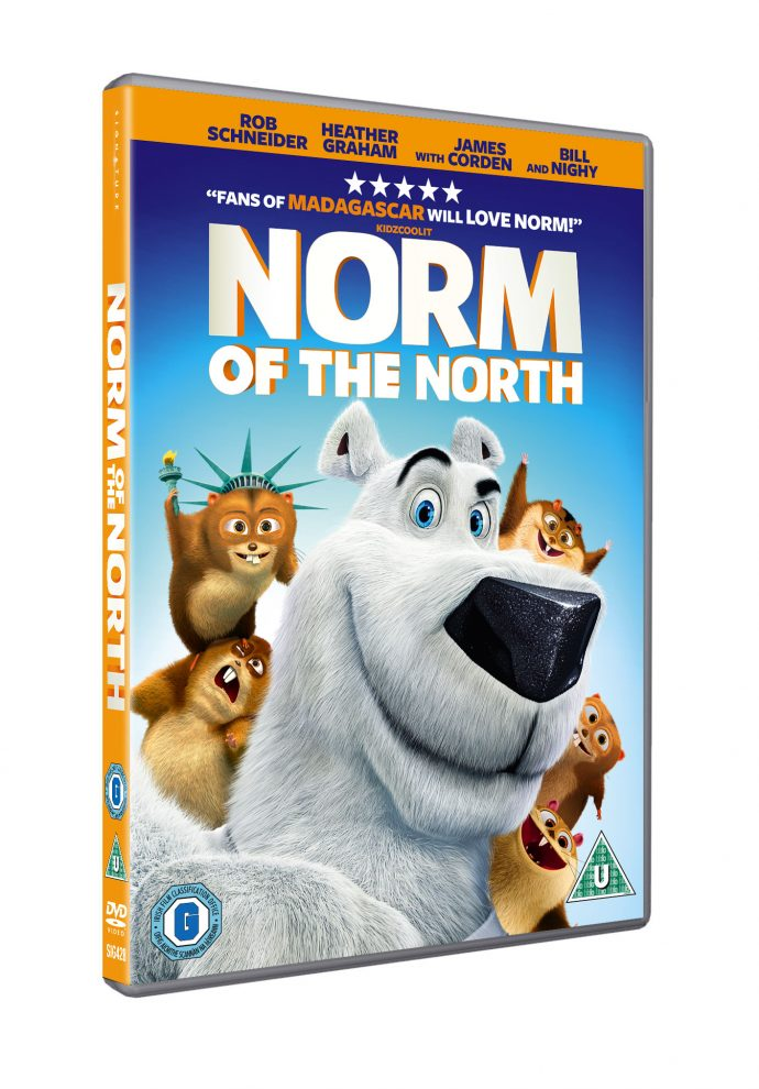 Norm of the North dvd cover