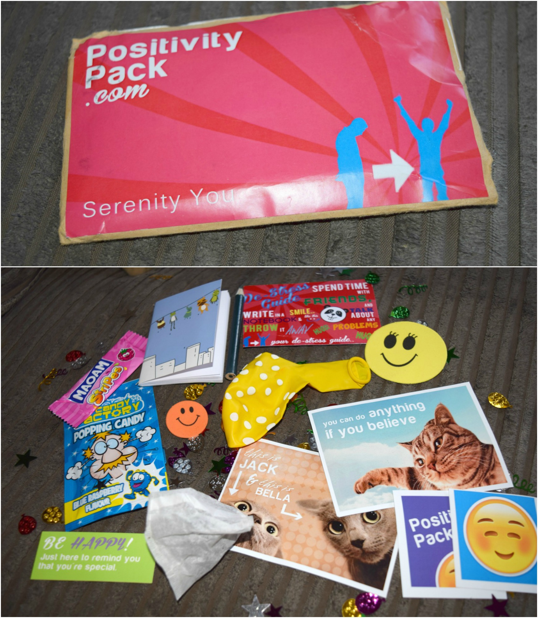 positivity pack Collage