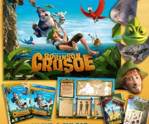 Win Robinson Crusoe DVD & Goodies