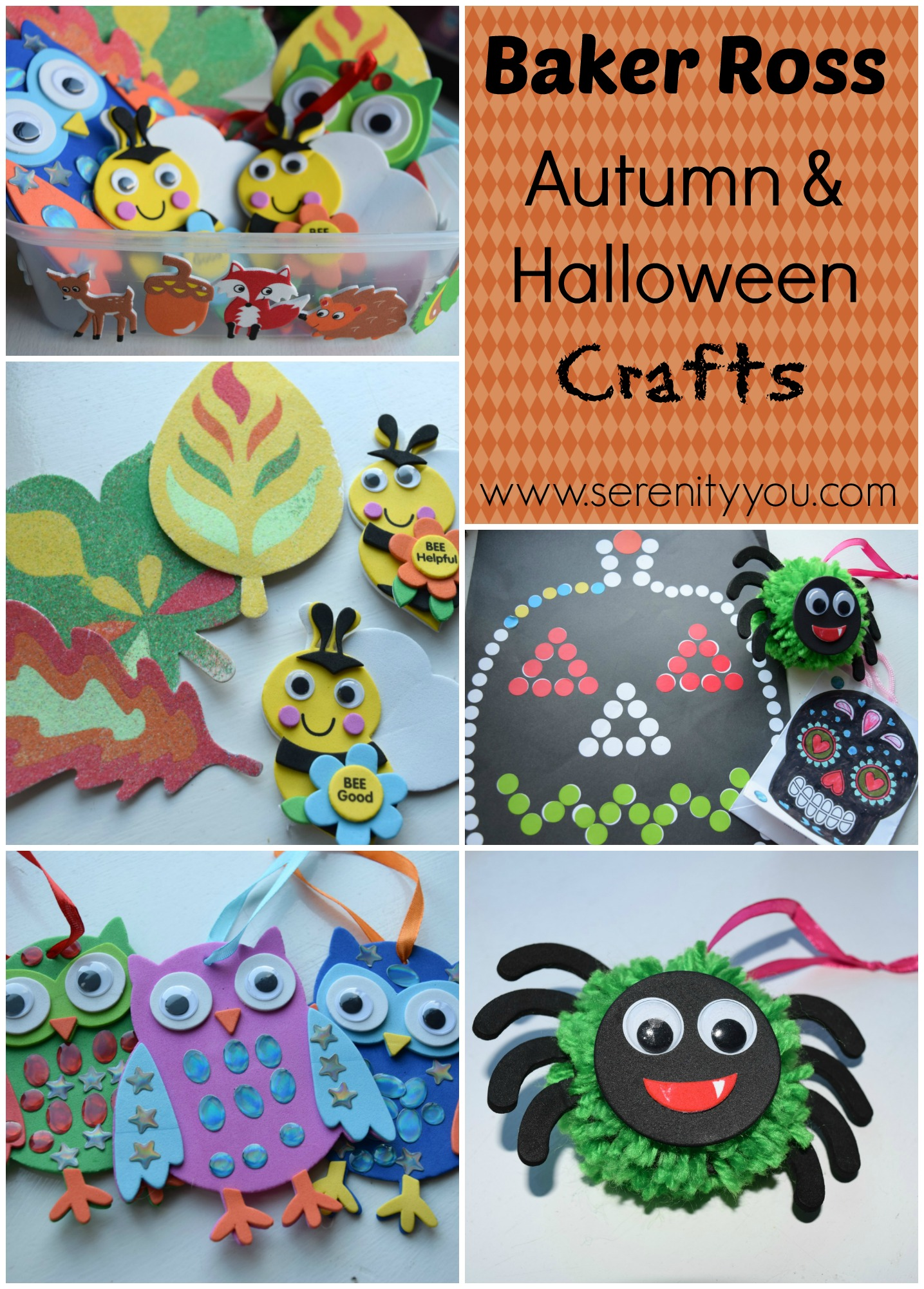 Baker ross autumn halloween crafts