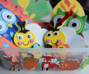 Having Fun with Baker Ross Autumn & Halloween Crafts
